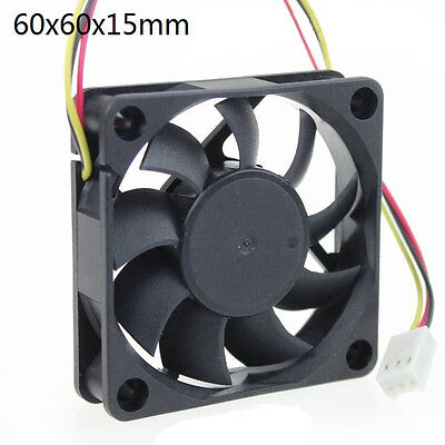 60*60*15mm 3Pins 12V PC CPU Host Chassis Computer Case IDE Fan Cooling Cooler