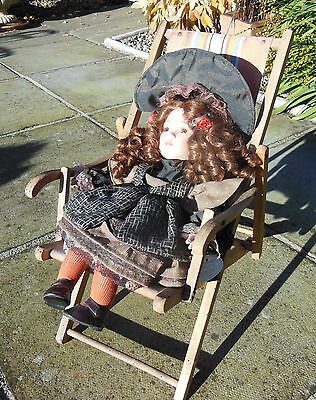 Dolls Deck Chair from France