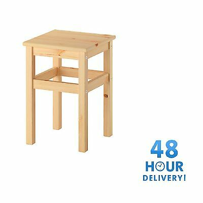 STOOL SOLID PINE WOOD STRONG GREAT QUALITY BRAND NEW 48 Hour Delivery
