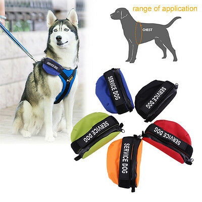 Nylon Pet Dog Harness Vest Accessories Fashion Backpack Double Side Bags BE