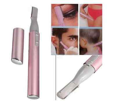 Eyebrow Temple Face Hair Remover Electric Portable Trimmer Shaver Razor Set