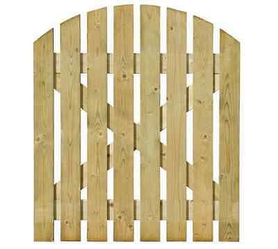 New Wooden Garden Gate Timber Path Gates Home Yard Diy Arched Free Shipping Art
