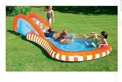 NEW Chad Valley Splash Slide Rider Outdoor Garden Toys Water Slides Kids Party