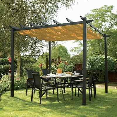Rowlinson Metal Free Standing Canopy Gazebo Shelter Rain Cover Weddings Parties
