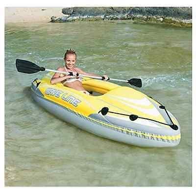 NEW Bestway Kayak Canoe Paddle Row Boat Inflatable Dinghy Water Kayaks Blow Up