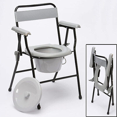 ***JANUARY OFFER*** Folding Lightweight Sturdy Chair Commode
