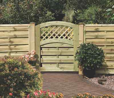 Wooden Garden Gate Wood Grange Fencing Back Yard Doors New Free Shipping Heavy