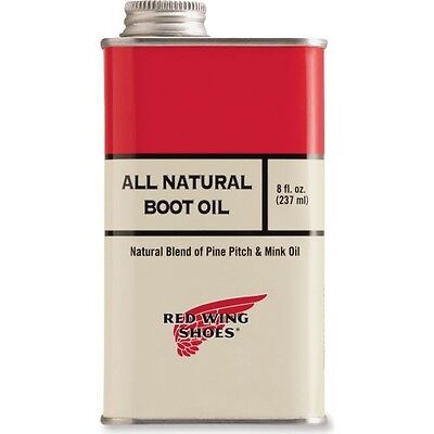 Red Wing All Natural Boot Oil, Pflegeprodukt, 237ml Flasche