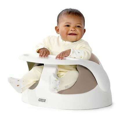 NEW Mamas and Papas Baby Snug and Tray Putty Kids Baby Seats Chairs Babies Seat