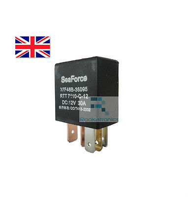5 Pin 12V DC 30A SeaForce Relay New High Quality Free Postage