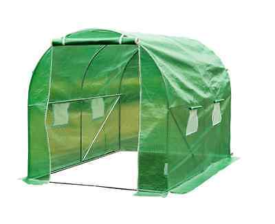 Outsunny Polytunnel Walk-In Greenhouse Steel Frame NEW Green Houses Gardening