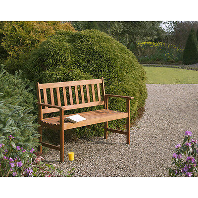 Brown Garden Bench Outdoor Furniture NEW Wooden Benches Patio Chair Seat Lawn