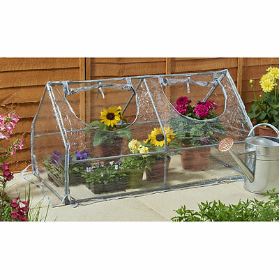 NEW PVC Cloche Greenhouse with 2 Openings Home Gardening Green House Portable