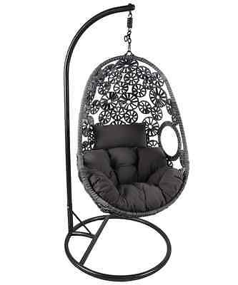 NEW Bentley Garden Rattan Hanging Swing Chair Cushion Garden Furniture Swings