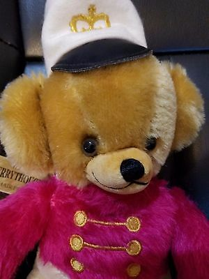 "Merrythought Bombadier Cheeky Mohair Bear made in England 11"" LMT 13 of 500"