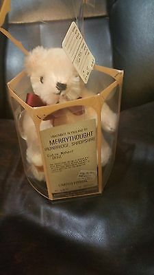 "Mohair  6"" Bear Fully Jointed Limited Edition 185/500 Merrythought England"