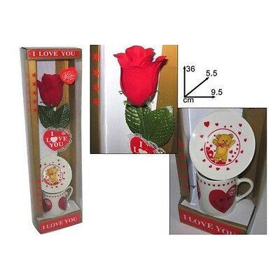 Coupe St Valentin Rose