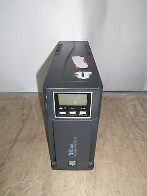 Riello Vision 1100T 1100VA UPS Battery Backup 4 x IEC13 USB - NO BATTS - Working