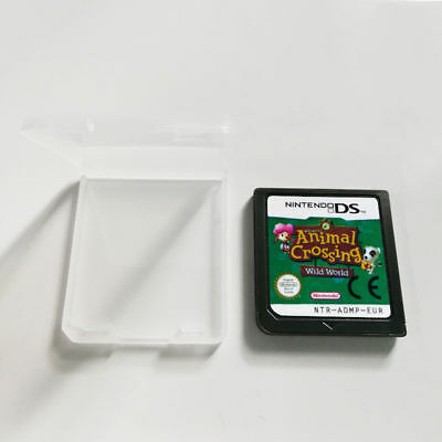 Animal Crossing: Wild World Nintendo DS Game Card NDS Lite DSi 2DS 3DS XL a F01