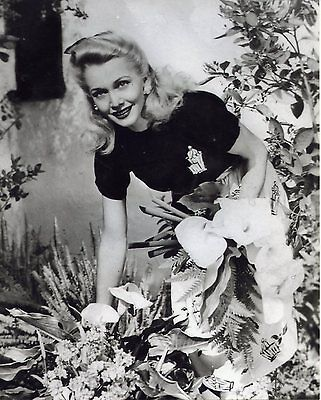 Carole Landis - Beautiful 8x10 BW Photo from personal negative