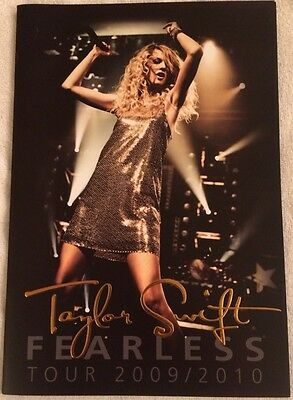 Taylor Swift Fearless Tour 2009/2010 Authentic Program  Gift