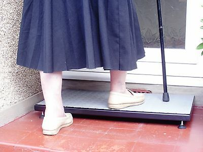 Half Step Mobility Aid STURDY Non Slip Surface  Step Up