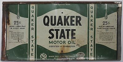 Quaker State Flattened Motor Oil Can - wall art