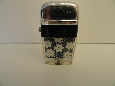 Vintage Scripto VU Lighter Daisies with Black Band