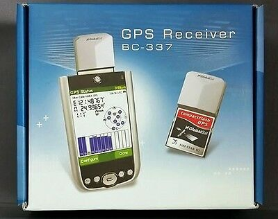 Brand NEW GlobalSat BC-337 SiRF Star III Compact Flash GPS Receiver Antenna