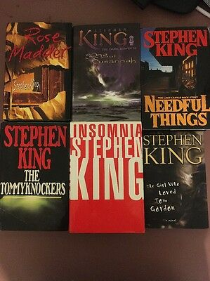 Stephen King Lot First Editions First Printings