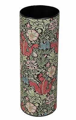 Umbrella/Stick Stand in William Morris Compton Tapestry - Made in England