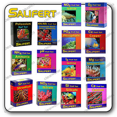 SALIFERT PROFI TEST KIT Marine Reef FISH TANK Freshwater AQUARIUM Water Tester