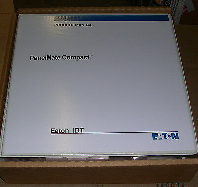 Eaton Idt, Product Manual And Software For Panelmate Compact Series, 2520