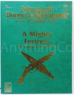 AD&D - 9370 - HR4 - Historical Reference - A Mighty Fortress - w/Map - New