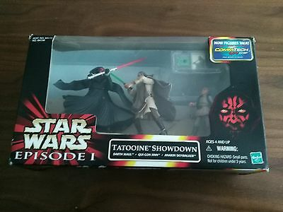 Star wars episode 1 tattooine showdown and comm talk chip boxed