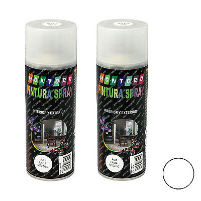Montoro - Pack de 2 botes de pintura en spray Laca A31 400 ml