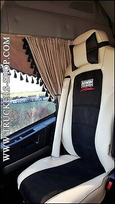 Iveco Highway Leatherette Seat Covers  [Truck Parts & Accessories]