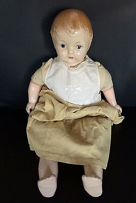 Vintage doll Effanbee Original with clothes, Height 20 inches