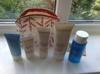 Clarins Gift Set - Face & Body - New Sealed