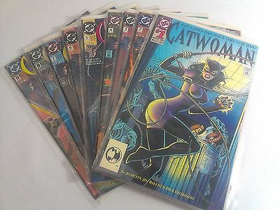 DC Comic Books CATWOMAN Lot of 9 Issues #1-9 Comics 1993-94 mix Knightquest