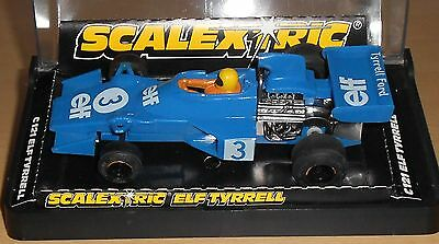 Scalextric Tyrrell Ford  Ref C 121 Exc Boxed