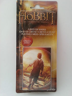 The Hobbit An Unexpected Journey Collection Edition Deck of Cards, Fournier NEW