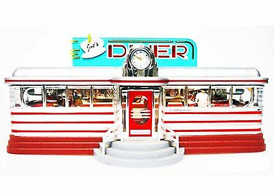JOE'S DINER 1950's LIGHTED MUSICAL TELEPHONE NEW IN BOX HEARING AID COMPATIBLE!