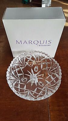 NEW in Box Marquis by Waterford Newberry Crystal Candy Dish Nut Bowl