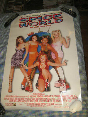 SPICE GIRLS-(the spice girls movie)-1 POSTER-27X40-NMINT-RARE