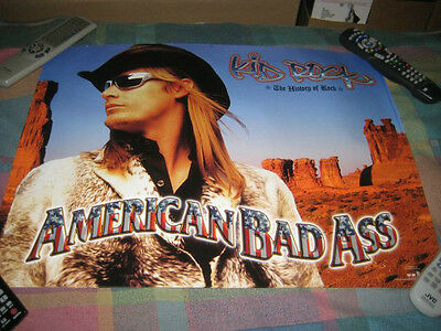 KID ROCK-(the history of rock-american bad ass)-1 POSTER-18X24-NMINT-RARE