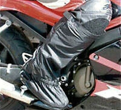 1 x PAIR of BIKE IT WATERPROOF MOTORCYCLE OVER BOOTS Bike Heavy Duty SIZE M or L