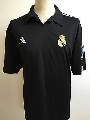 REAL MADRID Centenary 2002 Football Shirt Size L Large