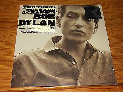 BOB DYLAN - THE TIMES  THEY ARE A-CHANGIN' / 180g VINYL EU-LP 2016 SEALED! OVP!