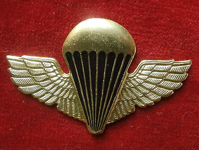"Russian budge ""Airborne forces - A parachute with direct wings (under gold)"